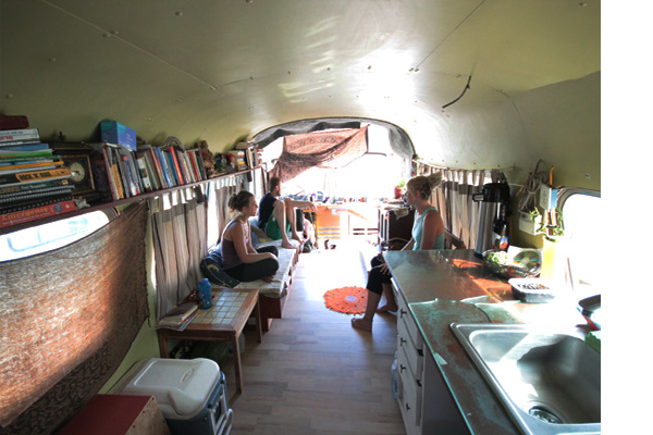 Coach Bus Conversion Tiny Home In Moab, UT