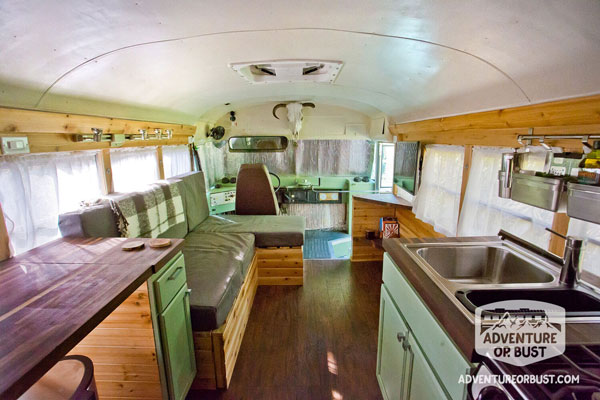 Adventure or Bust - School Bus Conversion