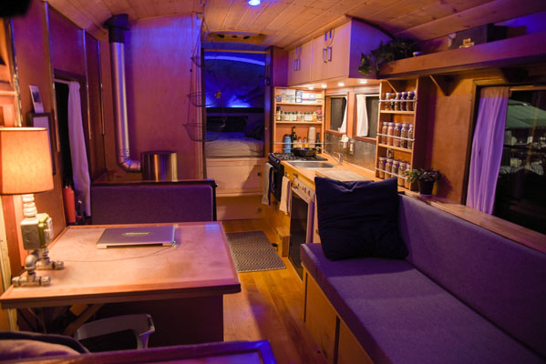 VIDEO 86 International School Bus Conversion By Kyle Volkman