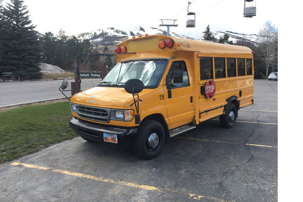 2002 Ford 7.3l Diesel Five Window Bus For Sale