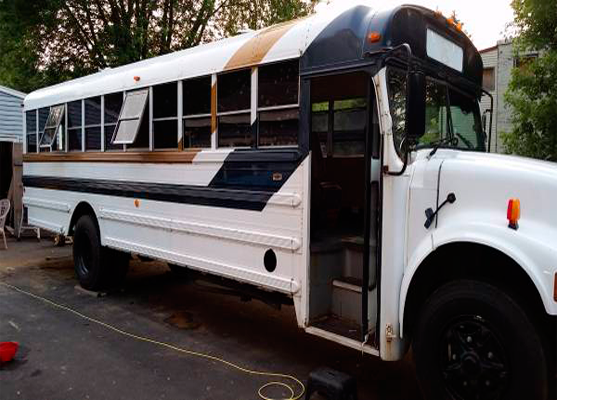 1990 International 7.3l Diesel Converted Bus For Sale