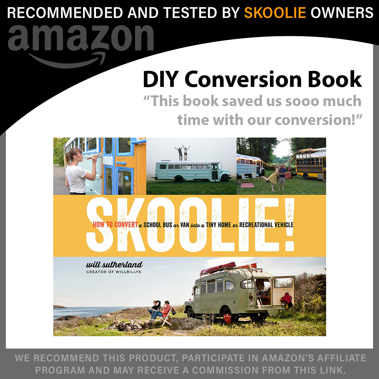 Skoolie - DIY Conversion Book