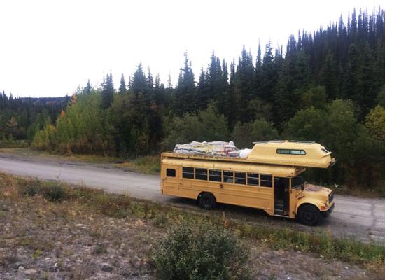 1993 blue bird bus conversion ned never ending dream