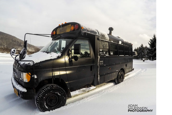 The Pursuit - Ford E350 Bus Conversion