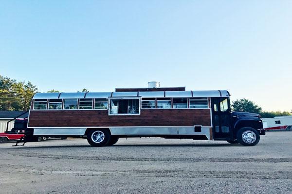 Converting A Short School Bus Into A Food Truck
