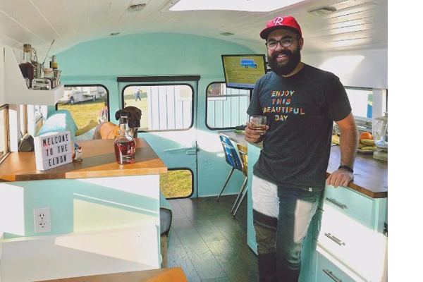 88 Chevy School Bus Conversion By Atlanta Couple