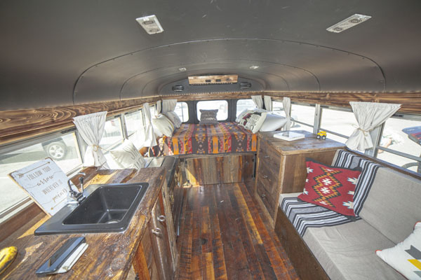 VIDEO: Jax Austin's Short School Bus Conversion