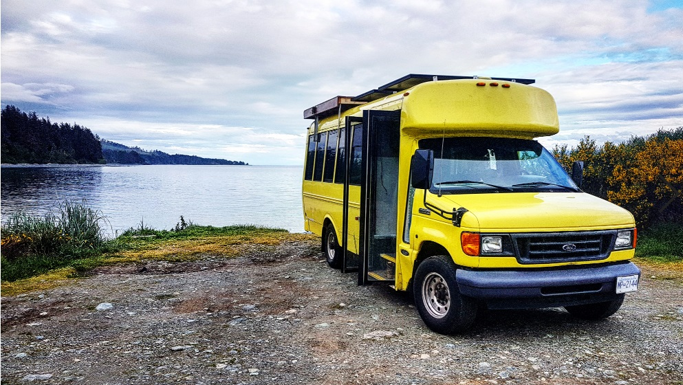 Vancouver Island Determined Life bus