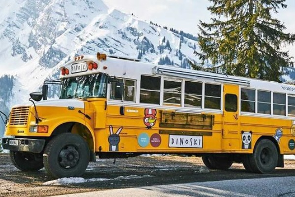 Travel Log: Epic European Tour in Converted American School Bus
