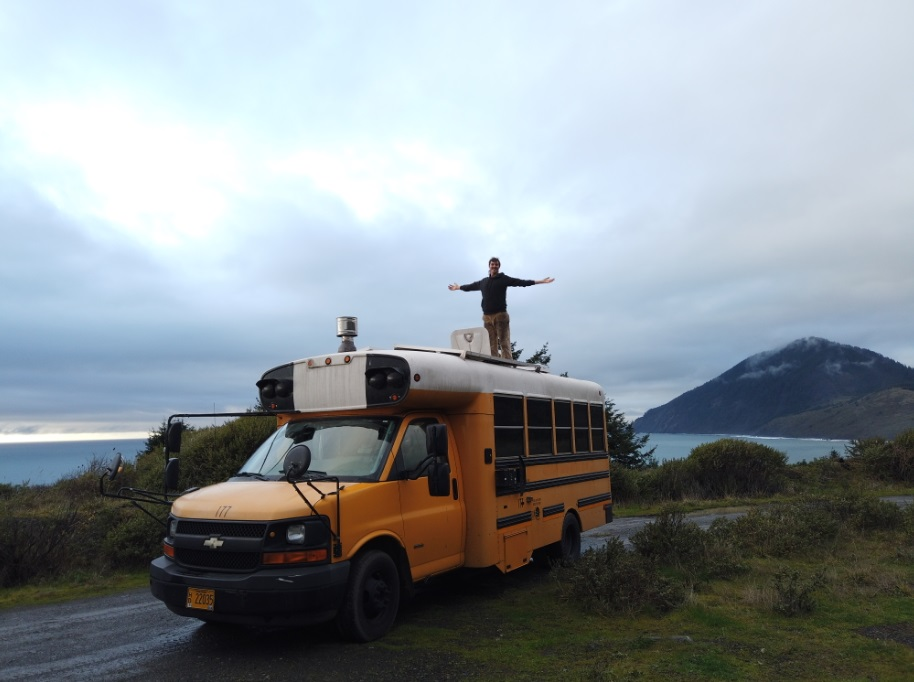 Ramblin Farmers Coastal skoolie Bus conversion