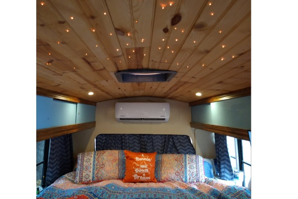 Fiber Optic Starry Night Lights for your RV, Skoolie or Van