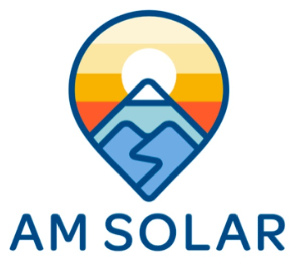 AM Solar logo Bus Life Adventure Solar Sundays Garret Towne