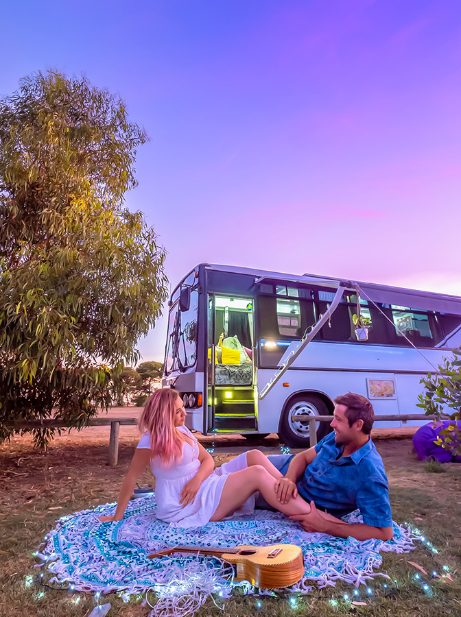 married couple bus life adventure me time enjoy relationship soulsom