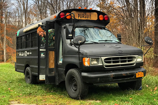 2001 Ford E-350 7.3l Powerstroke Short Bus Conversion For Sale