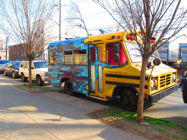 Amy Benson Converted Short Bus For Sale 1