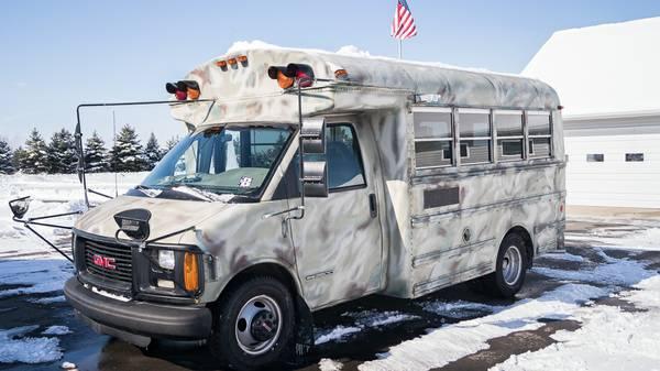 2001 Thomas GMC Short School Bus Conversion For Sale