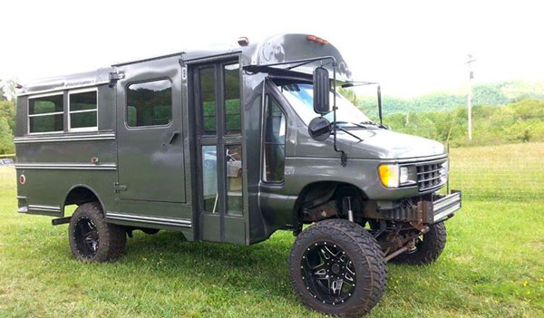 4x4 Bus For Sale Ford Powerstroke