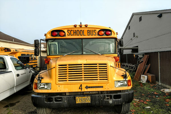 93 Bluebird International DT466 School Bus For Sale