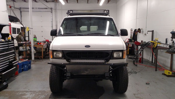 4X4 Van For Sale >> 4x4 Ford E350 Van For Sale