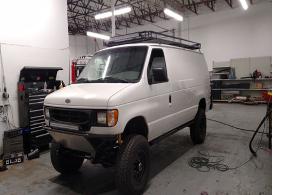 4x4 Ford E350 Van For Sale